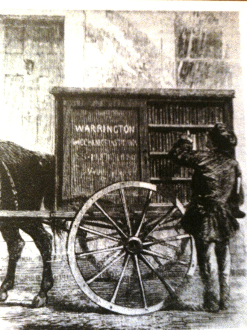 5. Warrington 1st Perambulating Library 1859 UK
